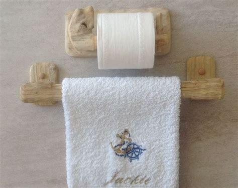 bathroom towel rails and toilet roll holders driftwood towel rail and toilet roll holder art crafts