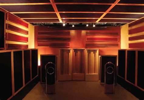 home theater room acoustic treatment acoustic fields