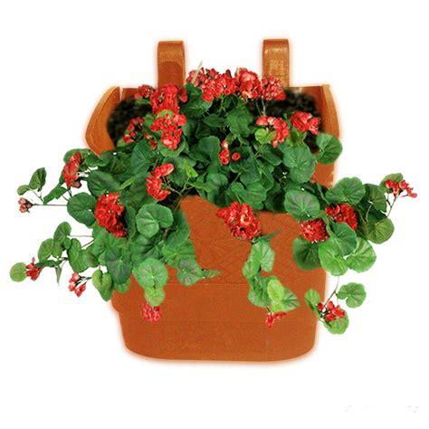 vertical garden pots pack of 10 terracotta colour