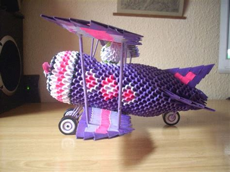 3d Origami Airplane - 17 best images about 3d origami on origami