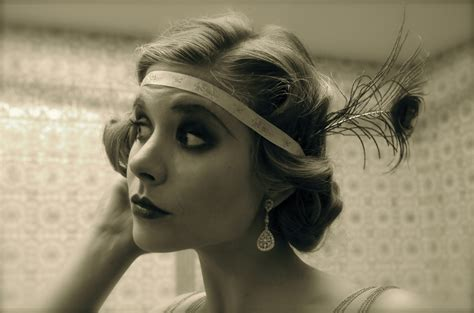 roaring 20s long hairstyles the roaring twenties