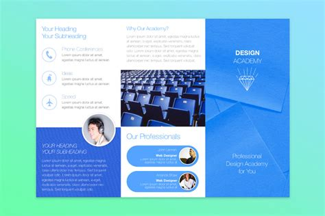 free brochure templates for mac all templates deal