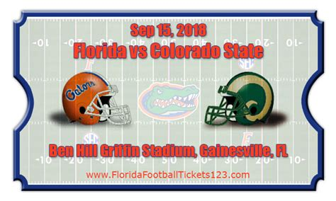 colorado state rams football tickets florida gators vs colorado state rams football tickets