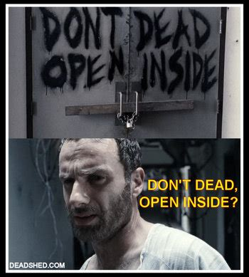 Walking Dead Rick Meme - the walking dead tv show memes tv tropes