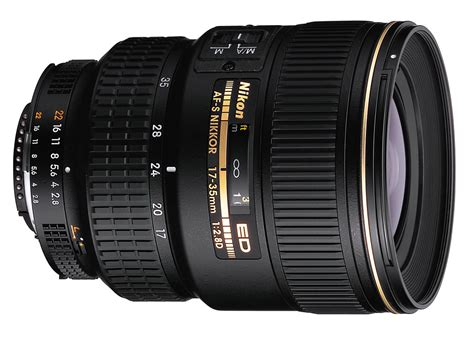 Nikon Lens Af S 17 35mm F2 8d nikon af s 17 35mm f 2 8 d ed specifications and