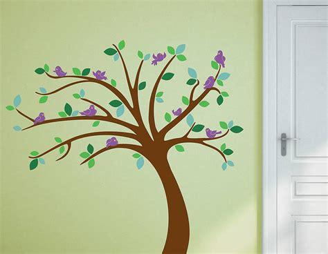 tree wall stickers uk children s tree wall sticker set contemporary wall stickers