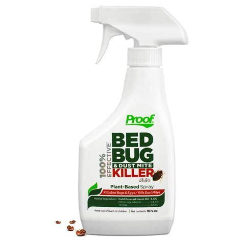 proof  effective bed bug  dust mite killer spray   home depot