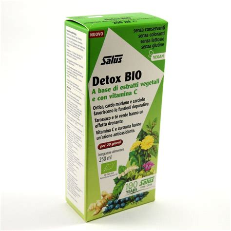 Detox C by Detox Bio A Base Di Estratti Vegetali E Con Vitamina C 250 Ml
