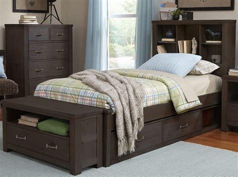 hton bedroom furniture bookcase storage bed set hton storage bed bookcase tower