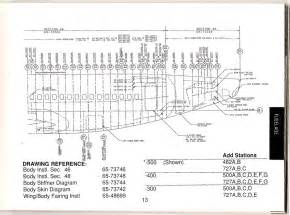 boeing 737 500 aka 735 aft fuselage station diagram a photo on flickriver
