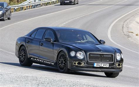 hovering bentley 2019 bentley flying spur bringing continental swag with