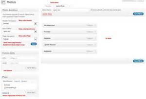 membuat page wordpress cara membuat page dan menus pada wordpress anaphalis91