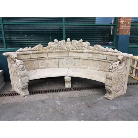 natural stone benches buy hand carved stone bench large natural stone bench