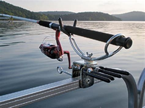 cl on fishing rod holders for boats fishing rod holder for pontoon boats images fishing and