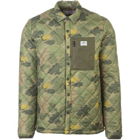 Quilted Shirt Jacket by Penfield Courtland Quilted Shirt Jacket S