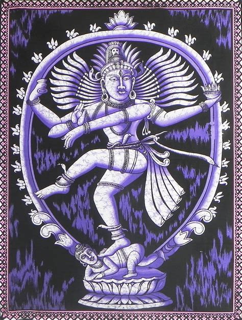 Batik Print 14 nataraja batik print on cloth