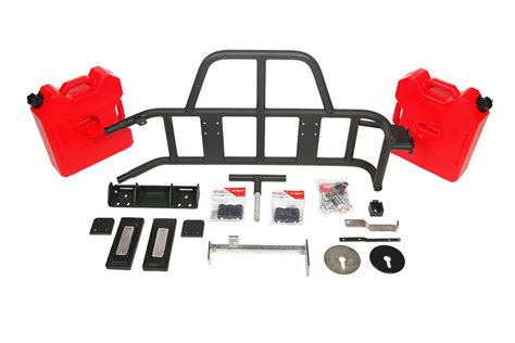 New Or Fab Swing Away Tire Gas Can Carrier 07 12 Wrangler