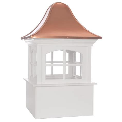 Directions Cupola by Directions Greenwich Vinyl Cupola With Copper Roof 48