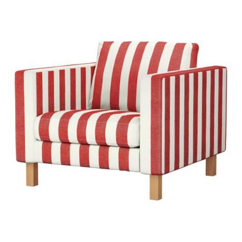 ikea karlstad armchair cover ikea karlstad armchair slipcover chair cover rannebo red white stripes cabana