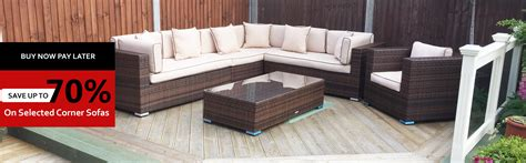 Sofa Buy Now Pay Later No Deposit 3 Seater Brown Ascot
