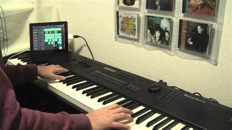 Piano Garage Band by Take On Me A Ha Piano Session With Garageband