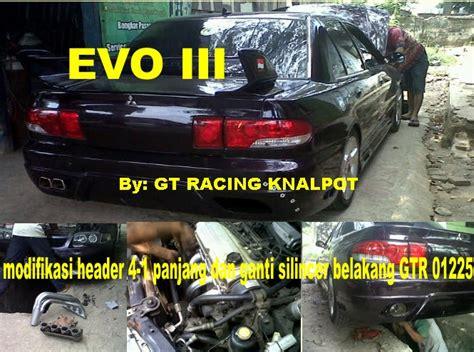 Downpipe Header Mobil Racing Mitsubishi Pajero modifikasi knalpot racing mitsubishi evo iii