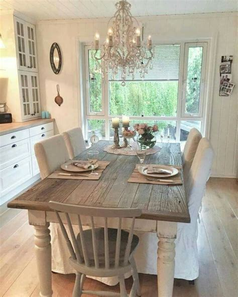 kitchen table decor ideas best 25 shabby chic kitchen ideas on shabby