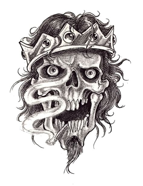 king tattoo pinterest collection of 25 skull king tattoo design
