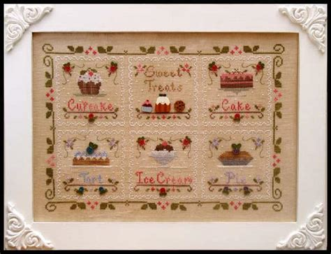 country cottage needleworks pumpkin cottage cross stitch pattern 123stitch com country cottage needleworks sweet treats block 3 tart