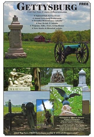 gettysburg section civil war news july