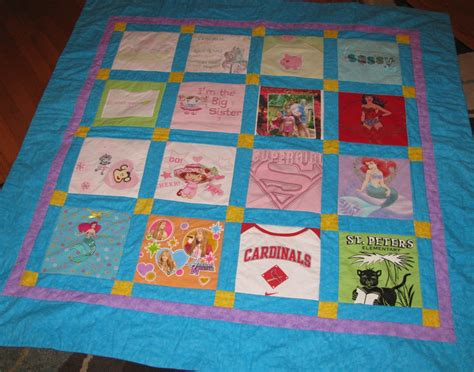 How To Put A Back On A Quilt by Adding Creativity To Your T Shirt Quilt Part Ii