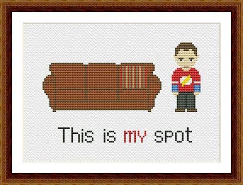 theory about pattern the big bang theory cross stitch pattern hand embroidery