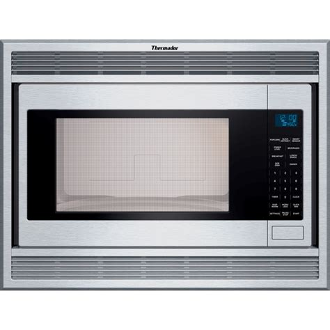 Built In Microwave thermador mbes 23 7 8 in 2 1 cu ft built in microwave oven