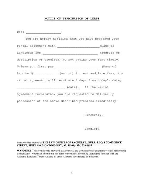 termination letter format absenteeism apartment contract termination letter cancellation