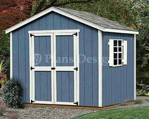 yard storage structures gable roof style shed plans