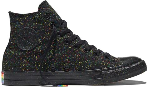 converse releases rainbow filled pride sneakers da man