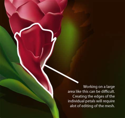 illustrator tutorial gradient mesh flower adobe illustrator tutorials gradient mesh flower