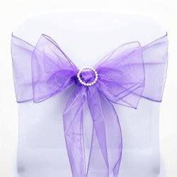 noeud de chaise violet boite 224 drag 233 es violet et blanc par 10 les couleurs du