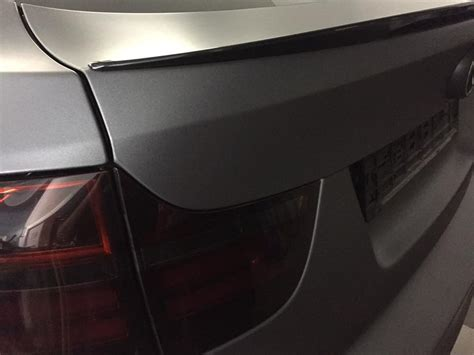 Folie Holzkohle Metallic by Bmw X6 E71 In Holzkohle Matt Metallic By Car Wrapping