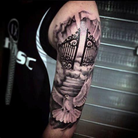 tattoo cross gates best 25 heaven tattoos ideas on pinterest stairway to