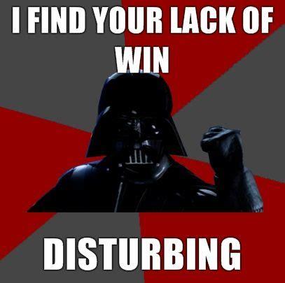Disturbing Memes - image 64997 i find your lack of faith disturbing know your meme