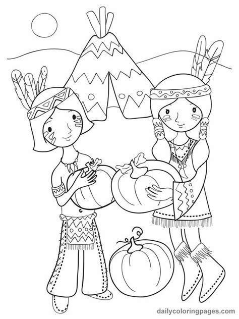 cute indian coloring pages 181 best fall halloween thanksgiving coloring pages images