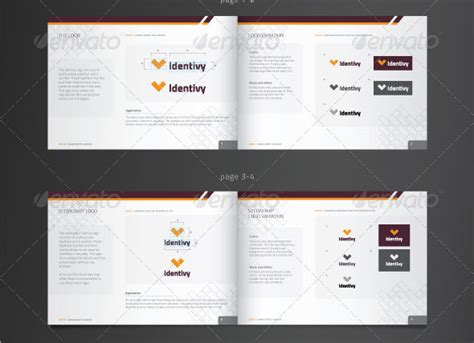 corporate identity manual template 4 best images of brand identity guideline corporate