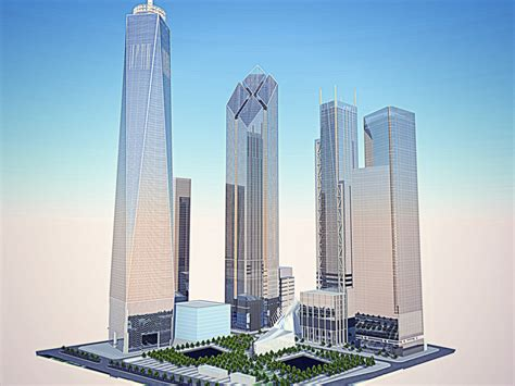 design center towers the re designed concept for two world trade center