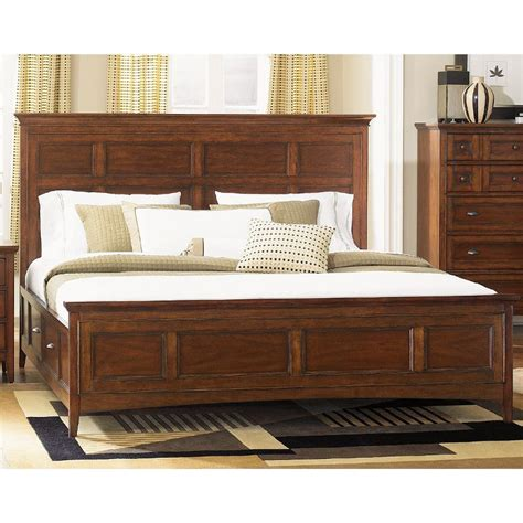 King Beds With Storage by Harrison Magnussen Cal King Storage Bed