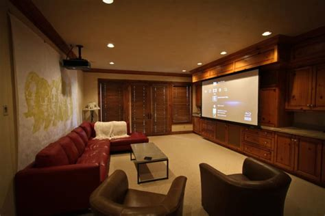 projector     living room  home