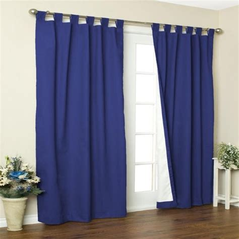 Black Friday Insulating Curtains Tab Top Pair Sale