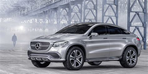 mercedes reveals concept coupe suv business insider
