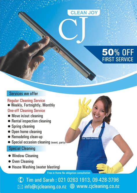 design cleaning flyer modern feminine environment flyer design for cj cleaning