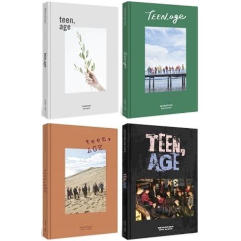 Seventeen 2nd Album Age seventeen age 2nd album